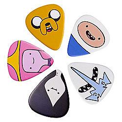 Adventure Time Guitar 5 Plectrum Set