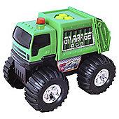 City Response Green Garbage