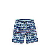 F&F Aztec Print Swim Shorts - Multi