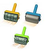 Hape Sand Toys - Brick Roller, Smooth Roller & Track Roller