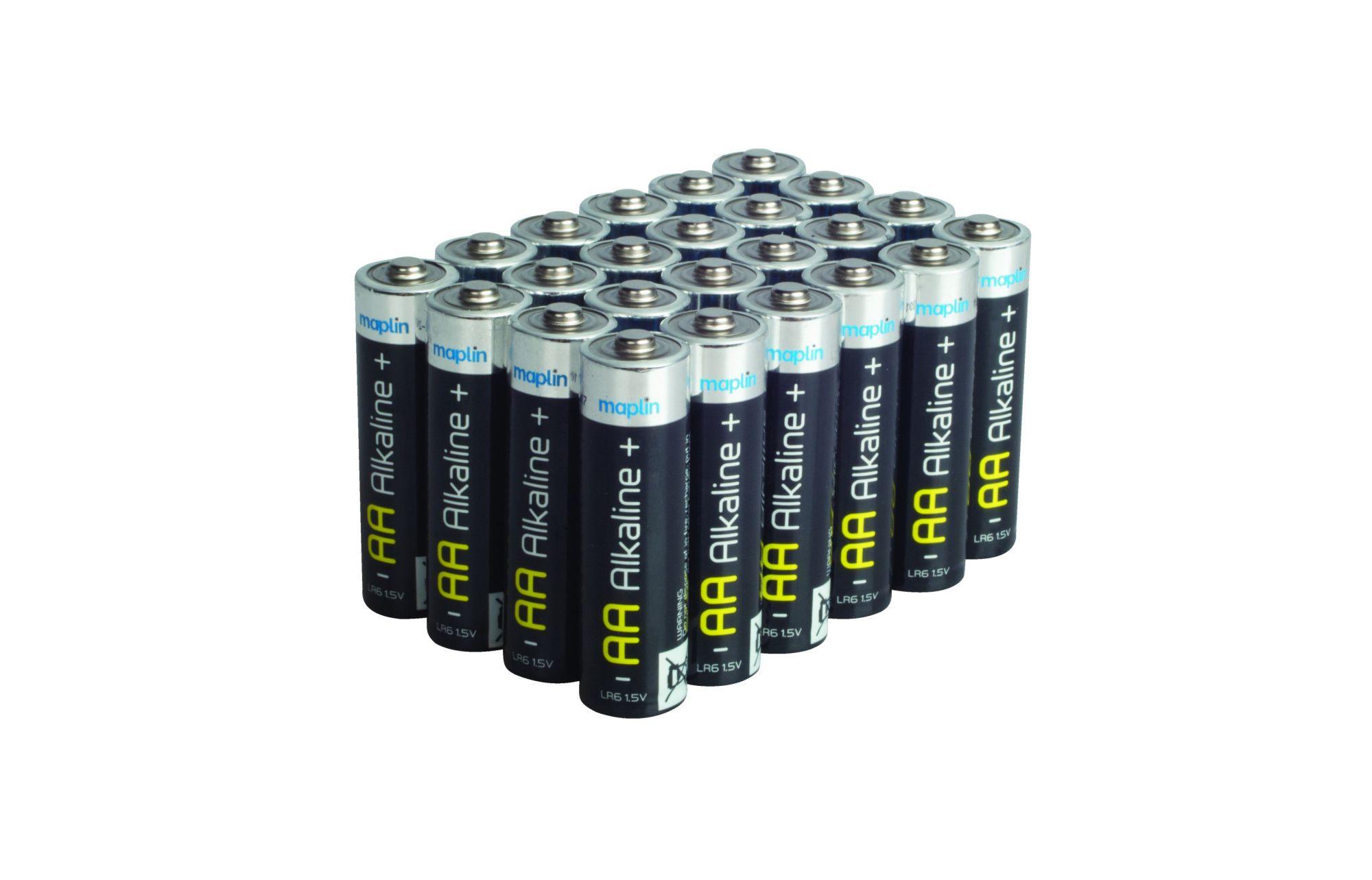 Aa Alkaline Batteries Maplin Electronics Autos Post