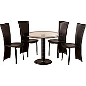 Home Essence Coromandel 5 Piece Round Dining Set