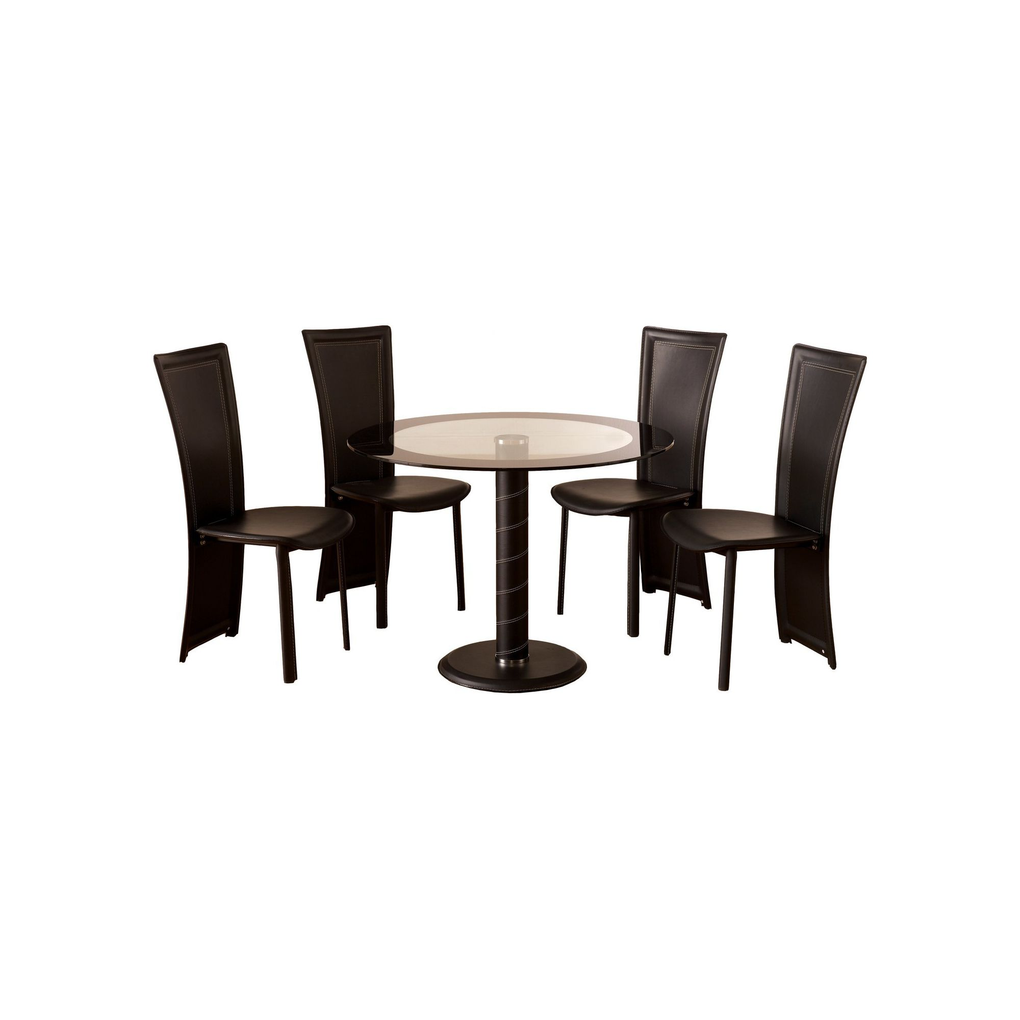 Home Essence Coromandel 5 Piece Round Dining Set at Tesco Direct