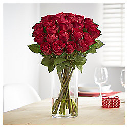 Always & Forever Double Dozen Premium Red Roses