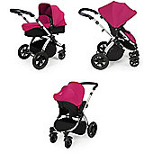 ickle bubba Stomp V2 3-in-1 Travel System (Pink)
