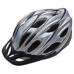 Adult Helmet Silver 58-62cm