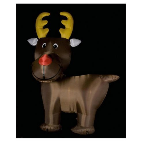 Festive 10ft Inflatable Cute Reindeer