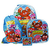 Moshi Monsters 4-Piece Kids' Luggage Set