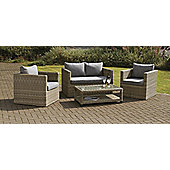 Wentworth 4pc Fixed Sofa Set