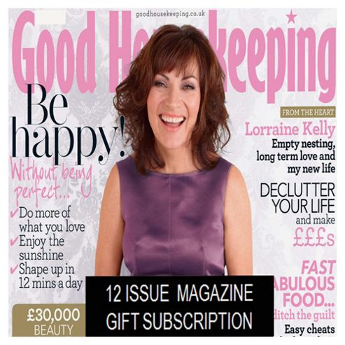 Good Housekeeping Subscription Gift Pack
