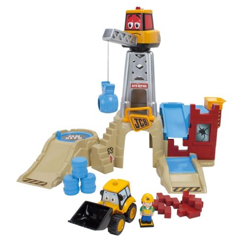 Golden Bear Toys My 1st JCB On Site Charlie Crane Playset