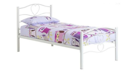 Frank Bosworth Varna Single Bed Frame - White