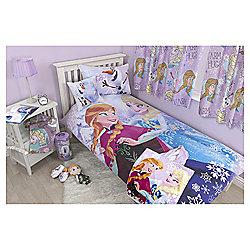 Disney Frozen Anna, Elsa and Olaf Fleece Blanket