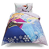 Disney Frozen Crystal Single Duvet Set