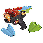 PPS Paper Plane Shooter Launcher Black and Orange