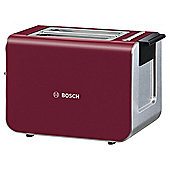 Bosch Styline TAT8614GB 2 Slice Toaster - Red
