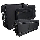 Rocket KTC-128 76 Note Keyboard Case with Wheels