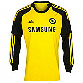 2013-14 Chelsea Adidas Home Goalkeeper Shirt - Yellow