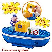 Peppa Pig Construction Set Grandpa Pig's Boat