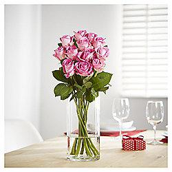 Be My Valentine Dozen Pink Roses
