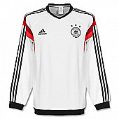 2014-15 Germany Adidas Sweat Top (White) - White