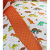 Dinosaurs Prehistoric Quilted Throwover
