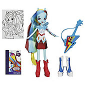 My Little Pony Equestria Girl Rainbow Dash With Accessories