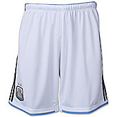 2014-15 Argentina Home World Cup Football Shorts (Kids) - White