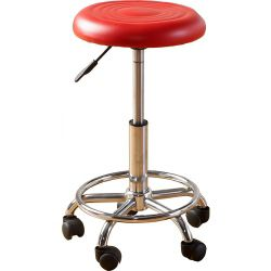 Home Essence Braybrook Stool in Red - Red