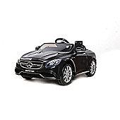 12V Mercedes S63 AMG Ride On Car Black