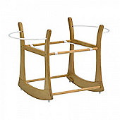 East Coast Rocking Moses Basket Stand - Natural
