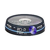TDK 25GB BD-R Blu-ray Recordable Cake Box
