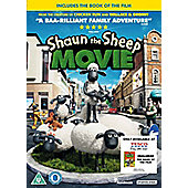Shaun The Sheep The Movie Book & DVD Ltd Ed (Tesco Exclusive)