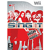Disney Sing It - High School Musical 3 Senior Year - Game Only - NintendoWii