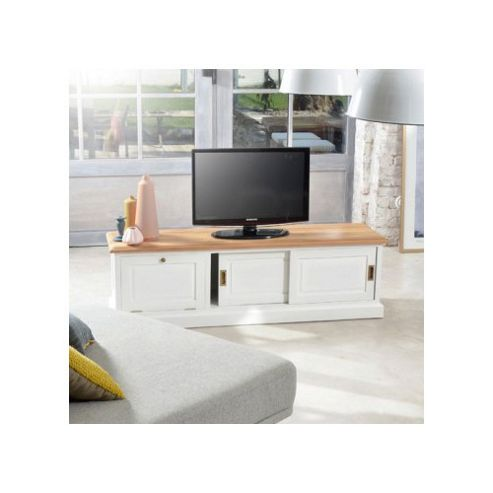 Tikamoon Cottage Slide TV Cabinet