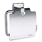 Smedbo House Toilet Paper Holder with Lid - Polished Chrome