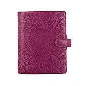 Filofax Pocket Finsbury Raspberry