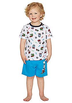 Thomas & Friends Shorts Pyjamas - White