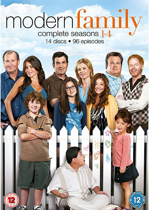 Modern Family Seasons 1-4 (DVD Boxset)