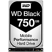 Western Digital Caviar Black 750 GB 2.5 Desktop SATA Hard Drive SATA 6GB/s 7200RPM 16MB Cache 5 Year Warranty WD7500BPKX