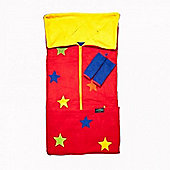 Cozyosko 4-in-1 Footmuff (Red Stars)