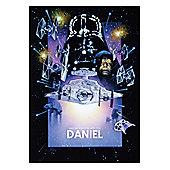 Star Wars Personalised 90's Realism Film Posters