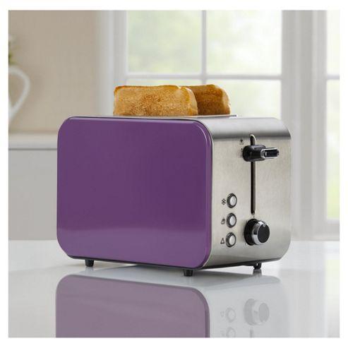 ... Tesco 2Tsspr15 Purple 2 Slice Toaster from our Toasters range - Tesco