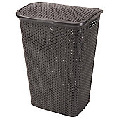 Cuver my style laundry hamper brown