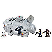 Star Wars Galaxy Heroes Millennium Falcon Playset with Figures