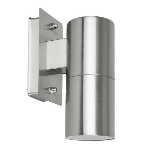 Buy IP44 Stainless Steel Outdoor Wall Down Light from our Wall & Porch Lights range - Tesco