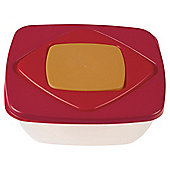 Bramli Nested Square Red Food Containers, Set of 4