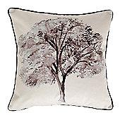 McAlister Woodland Tree Velvet Cushion