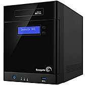 Seagate Business Storage (0TB) 4-Bay Network Attached Storage External (Black)