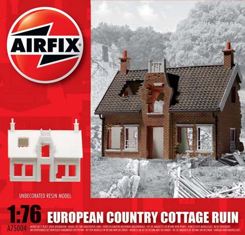 European Country Cottage Ruin (A75004) 1:76